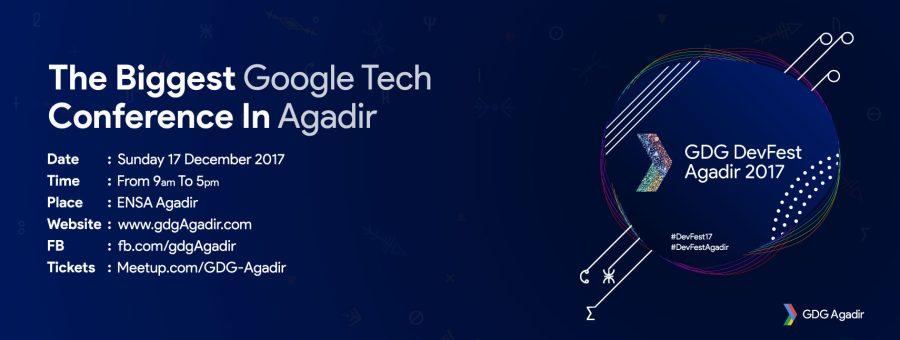 DevFest 17 GDG Agadir